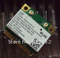 Free Shipping wifi 6200 agn 802.11n wireless N Half Mini card 10pcs/lot