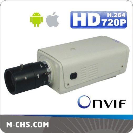 Onvif H.264 WDR SD Card Megapixel Box Camera IP Ci-7820(China (Mainland))