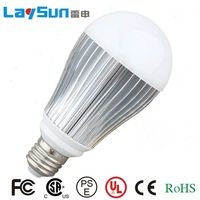 High quality Ultra bright LED bulb 8W High power E27 110-220V COLD/warm White light LED lamp spotlight save energy Free shipping