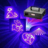Amazing A-2000B single Blue animation stage disco laser light