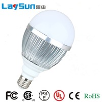 High quailty Ultra bright LED bulb 9W High power E27 110-220V warm White light LED lamp with 180 degree Spot light Free shipping