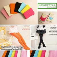 (10pcs/lot)Candy Color  baby girl leggings kids  pantyhose long  legging ,free shipping,wholesale
