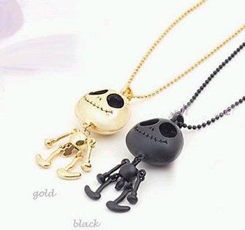 Necklace fashion generous eyes UFO alien Skull Necklace Woman Luxurious Paragraph fashion Necklace!#120