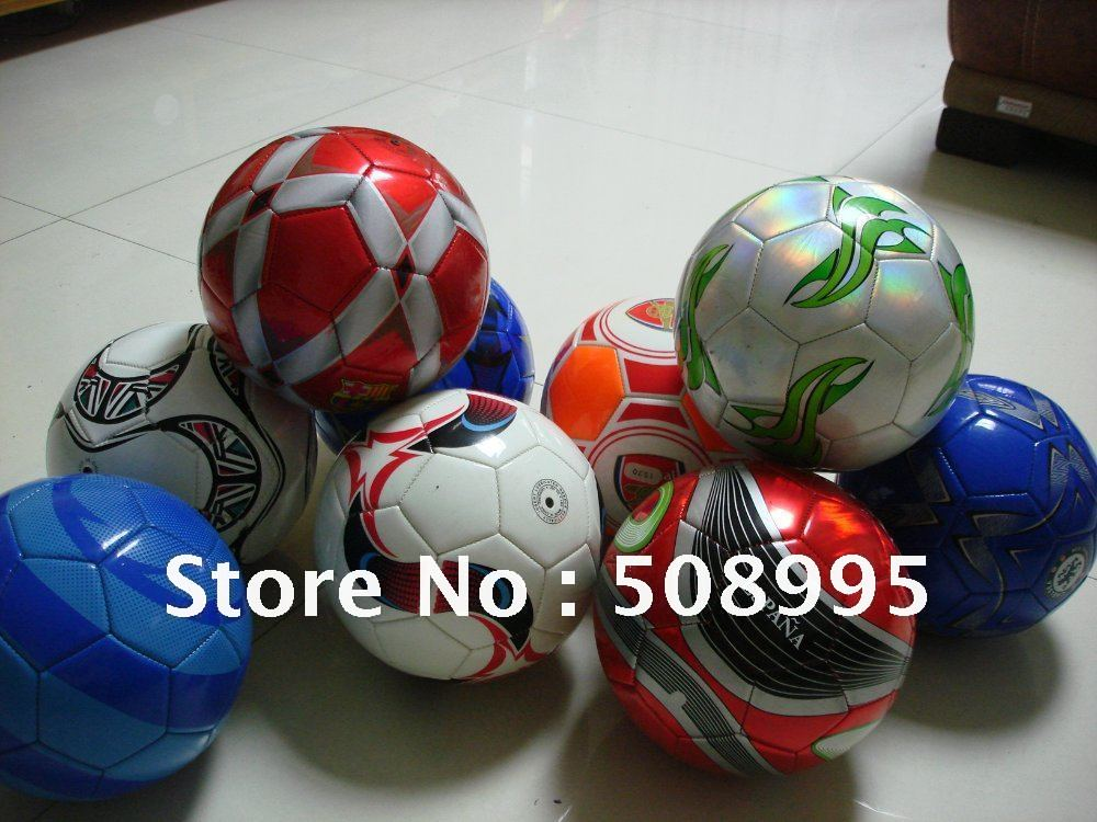 Free Shipping 1x Size 5 Football ball Soccer Ball Sports Footabll Assorted Ball