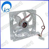 Cooling PC Fan Desktop Case 120mm Hi Speed RPM LED BLU 80389