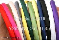Free Shipping Satin covered Hair Headband 10mm