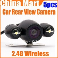2.4G Wireless GPS Night Vision Car Rear View Backup Parking Camera NTSC  Express 5pcs/lot
