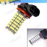 New SMD 3528 120 LED H11 Car Fog Parking Head light Bulb Lamp Cold White 12V Vehicle 4455