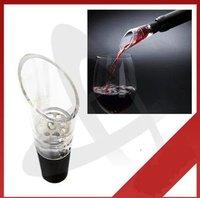 Wholesale:Magic Wine Decanting Aerating Filter Aerator Pourer Spout ,100pcs/lot