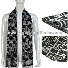 classic design men s scarves fashion men pattern scarf NL 1838