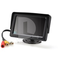 4.3&quot; TFT LCD Color Monitor 16: 9 for Car Reversing Parking Rearview Camera GPS Free Shipping