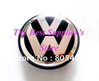 5pcs Top Quality 3D Chrome Badge VW Touareg Wheel Center Cap 70MM