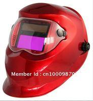 Solar and Li battery power supply auto darkening welding  mask/weld helmet