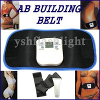 massager AB GYM Gymnastic Body Slimming Building Belt Electronic free dropshipping 1set/lot