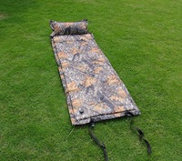 Retail 1 piece Camping Mat Automatic Inflatable Mat Cushion Camouflage Sleeping Mat  Free shipping