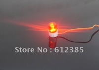 RC Police Night Model Car Red Flash LED Light D=14mm Rotation 360 Degree LED-PR 1:10 1/10