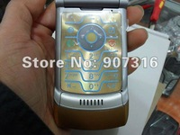 For V3i &DG unlocked original RAZR Cellphone Mobile Phone  free shipping via CPAP