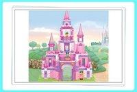 Enlighten Child M38-B0152 Princess Castle 472 pcs Compatible With Ligo Assembles Particles Block Toys Free Shipping