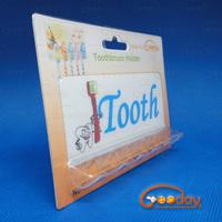 Adhesive toothbrush holder/Pro-environment toothbrush holder/Plastic toothbrush holder