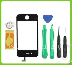 FOR IPHONE 4G LCD DIGITIZER GLASS TOUCH SCREEN REPLACEMENT(China (Mainland))