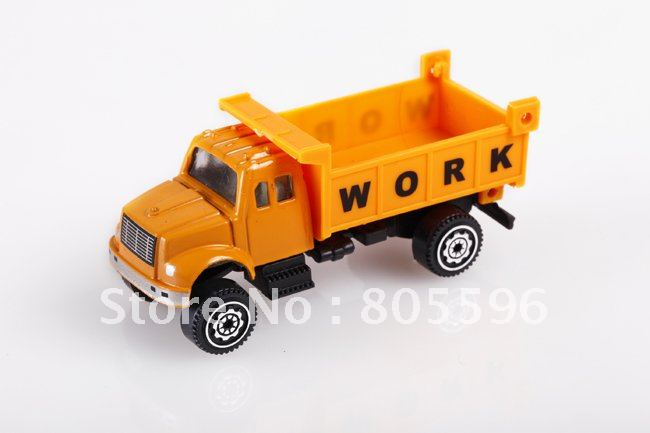Supernova Sales New 1:64 Mini Diecast Alloy Model Car (construction vehicles R) Vehicle Tank Truck for children gift 18 styles(China (Mainland))