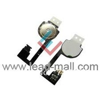 Free Shipping Home Button Flex Cable Ribbon Circuit Repair Part for iphone 4S  5pcs/lot