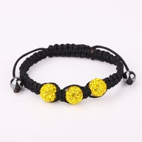 New Arrived Shamballa Crystal Bracelet, Wholesale Europe Style DIY Shamballa Bracelet  SA035