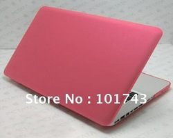 Rubberized (Matte) Case Cover For Macbook Pro 13.3&quot;(model A1278) (NO CUT OUT , APPLE LOGO SHINE THROUGH The Case ) FREE SHIPPING(Hong Kong)