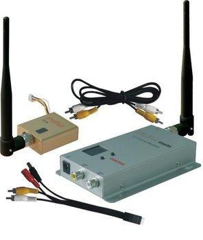 Free Shipping RC FPV Kit 1.2GHz 800mW Wireless AV Transmitter Receiver Audio Video Transmission 1.3ghz Long Range