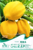 5 Pack  40 Seed Peach melon Kitchen Delicious Seeds B070