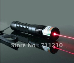 NEW 1000mw hand held focusable red laser pointer/red laser torch ,Flashlight shaped laser FREE SHIPPING(China (Mainland))