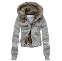 Best Selling!!  Women&#39;s Sweater Hoodies &amp; Sweatshirts Jacket 5 colors +free shipping  1 piece