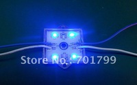 3528 SMD LED module,with metal case,BLUE color,DC12V,20pcs a string