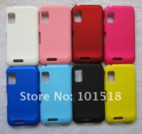 50pcs/lot Free shipping Rubber Hard Cover Case For Motorola XT760