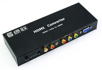 VGA to HDMI converter PS3/XBOX/YPbPr / Component to HDMI Converter with Audio