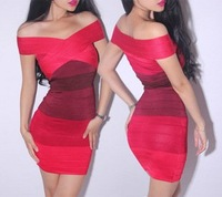 Ladies' Strapless shade beverley dress2012 bandage dress backless Skirt Kim Kardashian Style dress 201716