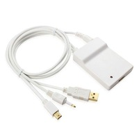 The mini Displayport -HDMI cable with a USB +5.1 channel audio mini dp to HDMI