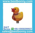 Swimming Pool Products-Yellow Duck Round Thermometer