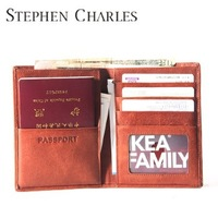 DHL Free Shipping Wholesale 20pcs per lot  / Passport Holder / passport wallet / case leather passport    W12PH0016-Z