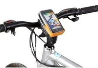 Bicycle bag Cell phone Mountain bike Handlebar Bag for IPhone HTC Cycling mobile waterproof pouch 20pcs/lot EMS Free shipping