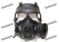 M04 Gas Mask Style Mask w/ Fan Black (M04-MK-BK)