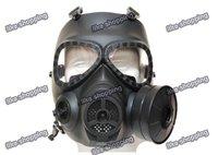 M04 Gas Mask Style Mask w/ Fan Black (M04-MK-BK)