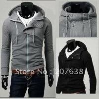 Best Selling!! Men&#39;s Jacket Hoodie Coat Sweatshirt Hoodied Pullover+free shipping  1piece