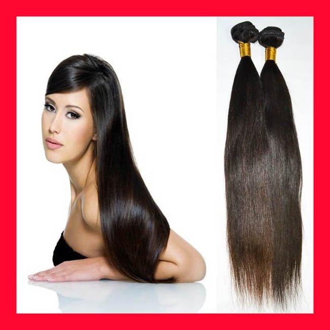 16 Inch Black Human Hair Extensions 10
