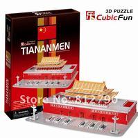 Tiananmen of china cubic fun 3d puzzle model