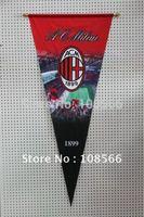 Wholesale ac milan fc pennant  45*105 cm / big flag