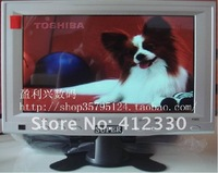 Free shipping   2012  LED7 inch LCD AV/BNC closed-circuit security show/monitor with  small television antenna