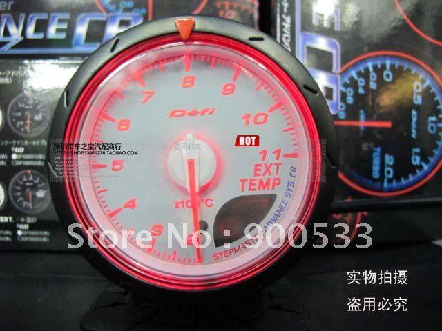 все цены на Прибор для авто Defi EXT TEMP 2,5/60 Defi CR EXT EGT Defi CR онлайн