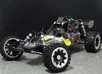 black alloy baja 30.5CC+GT3B radio+2012 nice  pipe