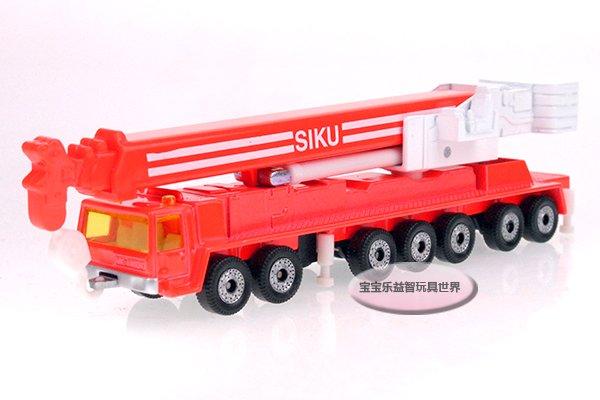 Free shipping--German high SIKU heavy duty crane / lifting arm telescopic rotary/alloy model car / puzzle toy Christmas gift(China (Mainland))